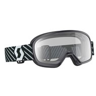 OFFER SCOTT YOUTH BUZZ MX GOGGLE 2019 COLOR BLACK - CLEAR LENS
