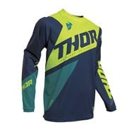 THOR YOUTH SECTOR BLADE JERSEY 2020 CHARCOAL / RED COLOUR