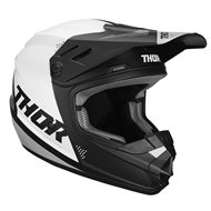 CASCO INFANTIL THOR SECTOR BLADE OFFROAD 2020 COLOR BLANCO / AGUA