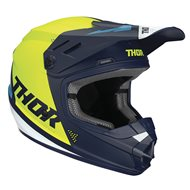 CASCO INFANTIL THOR SECTOR BLADE OFFROAD 2020 COLOR NEGRO / BLANCO