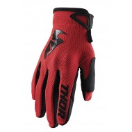 THOR SECTOR GLOVES 2021 RED COLOUR