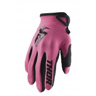THOR WOMEN SECTOR GLOVES 2021 PINK COLOUR