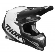 CASCO THOR SECTOR BLADE 2020 COLOR NEGRO / BLANCO