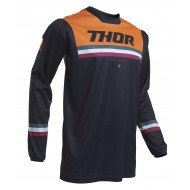 THOR YOUTH PULSE AIR PINNER JERSEY 2020 MIDNIGHT / ORANGE COLOUR