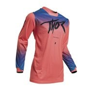 THOR WOMEN PULSE FADER JERSEY 2020 CORAL COLOUR