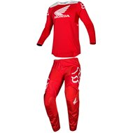 OUTLET COMBO FOX 180 HONDA 2019 RED COLOUR SIZE M/32