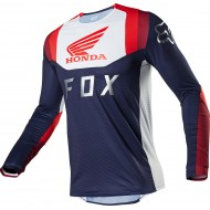 FOX FLEXAIR HONDA JERSEY 2020 NAVY / RED COLOUR