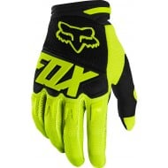 GUANTES INFANTILES FOX DIRTPAW RACE 2020 COLOR AMARILLO FLUOR
