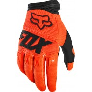 OFFER FOX YOUTH DIRTPAW GLOVE RACE 2020 FLUO ORANGE COLOUR