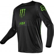 OFFER FOX 360 MONSTER/PRO CIRCUIT JERSEY 2020 BLACK COLOUR