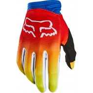 FOX YOUTH DIRTPAW FYCE GLOVE 2020 BLUE/RED COLOUR