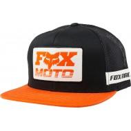 OFFER FOX CHARGER SNAPBACK HAT BLACK / ORANGE COLOUR