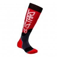ALPINESTARS YOUTH MX PLUS-2 SOCKS 2021 RED / WHITE COLOUR