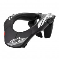 ALPINESTARS YOUTH NECK SUPPORT 2020 BLACK / WHITE COLOUR