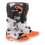 BOTAS ALPINESTARS TECH 5 2020 COLOR BLANCO / NEGRO / NARANJA FLUOR