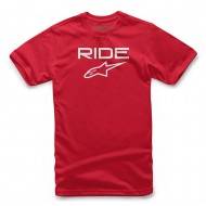 OFFER ALPINESTARS YOUTH RIDE 2.0 RED / WHITE COLOUR