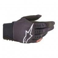 OUTLET GUANTES ALPINESTARS SMX-E 2020 COLOR NEGRO / NARANJA FLUOR