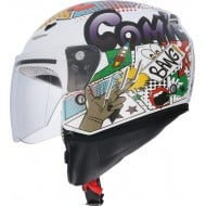 CASCO SHIRO SH-20 COMIC II BLANCO