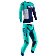 OUTLET COMBO LEATT GPX 4.5 2020 COLOR AGUA