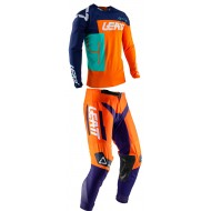 OUTLET COMBO INFANTIL LEATT GPX 2.5 MINI 2020 COLOR NARANJA
