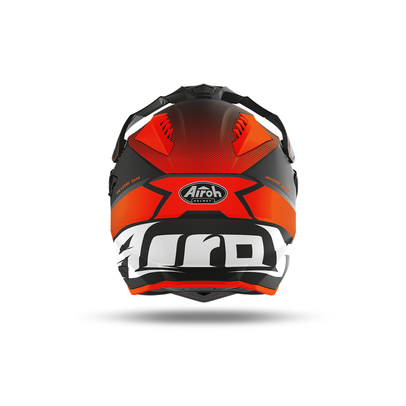 New! Airoh Commander Progress Limited red Limited Edition Adbenture helmet