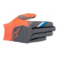 OFFER ALPINESTARS AVIATOR GLOVES 2019 COLOR ANTHRACITE / ORANGE FLUOR