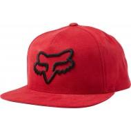 OFFER FOX INSTILL SNAPBACK HAT RED / BLACK COLOUR