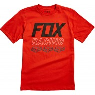 OUTLET CAMISETA INFANTIL FOX OVERDRIVE COLOR NARANJA ATOMIC