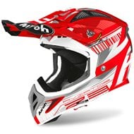 CASCO AIROH AVIATOR 2.3 NOVAK 2020 COLOR ROJO CROMO