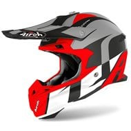 CASCO AIROH TERMINATOR OV SHOOT 2020 COLOR ROJO MATE