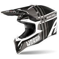 CASCO AIROH WRAAP BROKEN 2020 COLOR ANTRACITA MATE