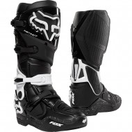 OFFER FOX INSTINCT BOOT BLACK / WHITE COLOUR - SIZE 10 USA
