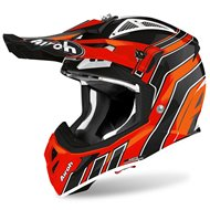 CASCO AIROH AVIATOR ACE ART 2020 COLOR NARANJA BRILLO