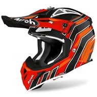 AIROH AVIATOR HELMET ACE ART 2020 ORANGE GLOSS COLOUR