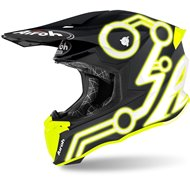 CASCO AIROH TWIST 2.0 NEON 2020 COLOR AMARILLO MATE