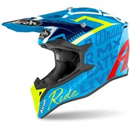 CASCO AIROH WRAAP STREET 2020 COLOR AZURE BRILLANTE