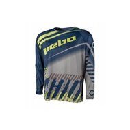 HEBO END-CROSS STRATOS JERSEY COLOR BLUE