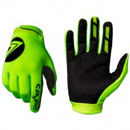 YOUTH SEVEN MX ANNEX 7 DOT GLOVES 2020 FLUO YELLOW COLOUR