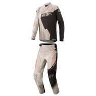 OFFER COMBO YOUTH ALPINESTARS RACER FACTORY 2020 GREY/BLACK/RUST COLOUR
