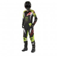OFFER COMBO ALPINESTARS MONSTER ET GEAR 2020 BLACK / BRIGHT GREEN / RED COLOUR