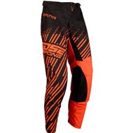 PANTALON MOOSE QUALIFER 2020 COLOR NEGRO / NARANJA