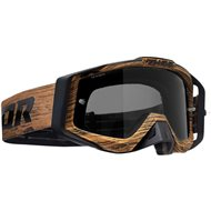 THOR SNIPER PRO WOODY GOGGLES 2020 BROWN COLOUR - SMOKE LENS