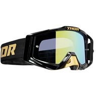 THOR SNIPER PRO SOLID GOGGLES 2020 GOLD / BLACK COLOUR - GOLD LENS