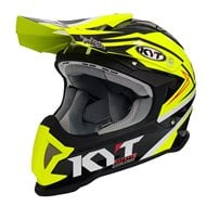 OFFER HELMET OFF ROAD KYT STRIKE EAGLE SIMPSON REPLICA YELLOW FLUO