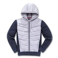 OUTLET CHAQUETA ALPINESTARS BOOST II HYBRID COLOR GRIS / AZUL MARINO