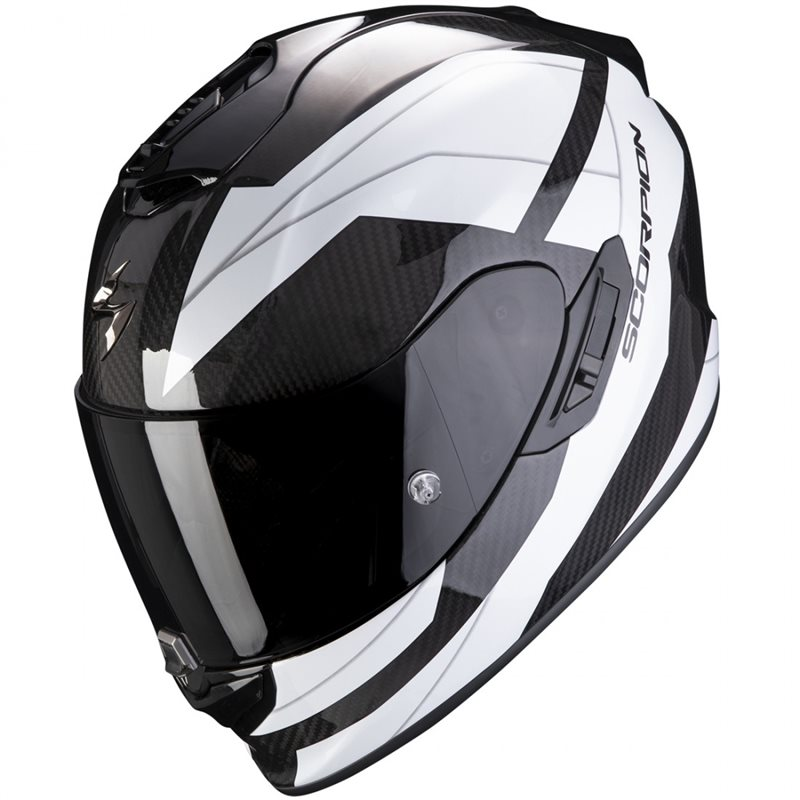 Scorpion Casco Exo-1400 Carbon Air Legione White M