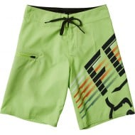 FOX YOUTH LIGHTSPEED BOARDSHORT LIME COLOUR
