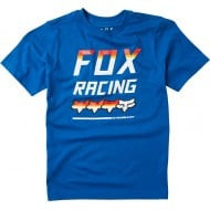FOX YOUTH FULL COUNT SHORT SLEEVE TEE ROYAL BLUE COLOUR