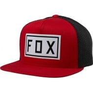 FOX YOUTH DRIVETRAIN SNAPBACK HAT CHILI COLOUR