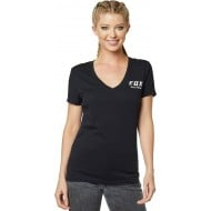CAMISETA MUJER FOX SPEED THRILLS COLOR NEGRO